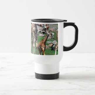 Caneca Térmica O animal do safari de África do girafa personaliza