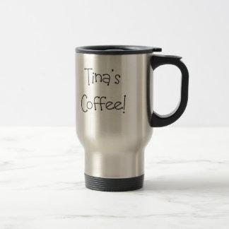 Caneca Térmica O café de Tina