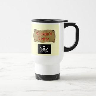 Caneca Térmica O Café do capitão