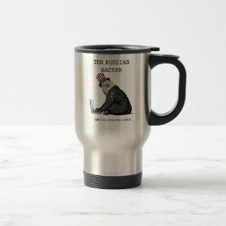 Caneca Térmica O copo do urso de Eagle do cabouqueiro do russo