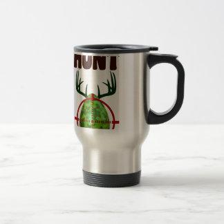 Caneca Térmica o design engraçado da páscoa, nascer para caçar