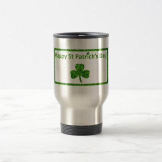 Caneca Térmica O dia de St Patrick feliz!