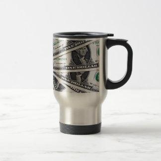 Caneca Térmica O dólar nota 1 dólar