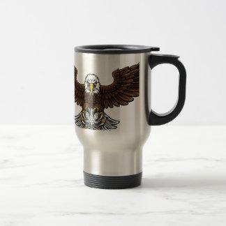 Caneca Térmica O golfe de Eagle ostenta a mascote
