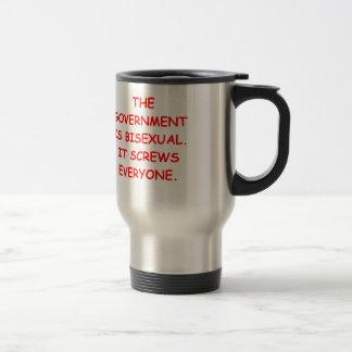 Caneca Térmica o governo grande