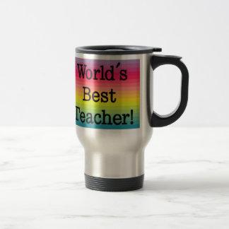 Caneca Térmica O melhor professor do mundo - presente do