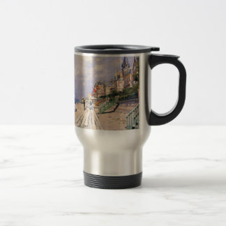 Caneca Térmica O passeio à beira mar em Trouville Claude Monet