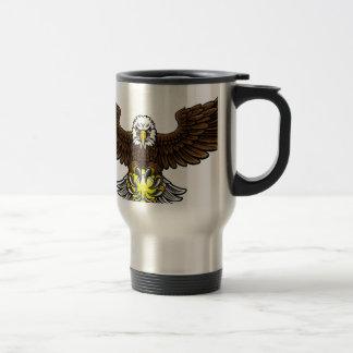 Caneca Térmica O tênis de Eagle ostenta a mascote