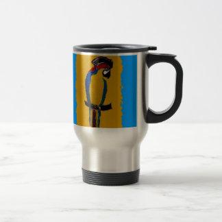 Caneca Térmica Papagaio azul