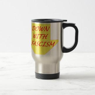 Caneca Térmica Para baixo com fascismo