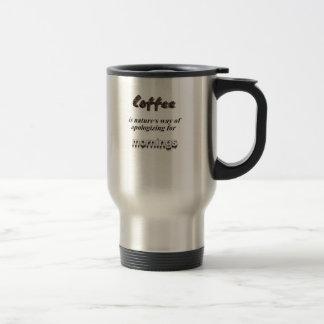 Caneca Térmica Para os amantes do café