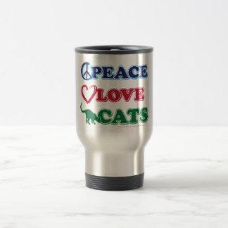 Caneca Térmica Paz-Amor-Gatos