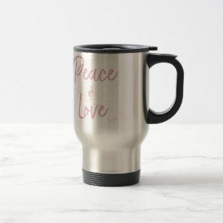 Caneca Térmica Paz-e-Amor-Cor-de-rosa