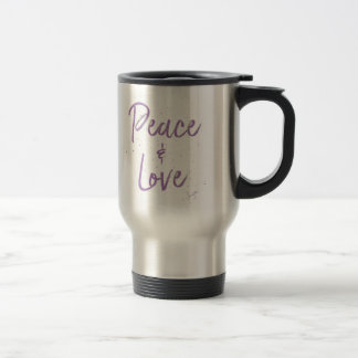 Caneca Térmica Paz-e-Amor-Roxo