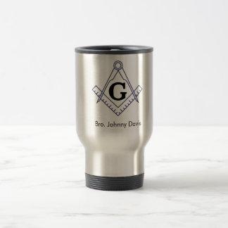 Caneca Térmica Personalize este copo de aço inoxidável maçónico