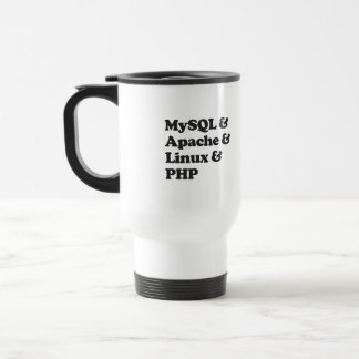 Caneca Térmica PHP de Mysql Apache Linux