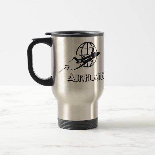 Caneca térmica- Piloto de avião