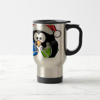 Caneca Térmica Pinguim do Natal
