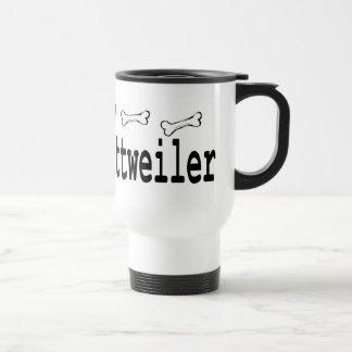 Caneca Térmica Presentes dos amantes de Rottweiler