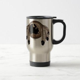 Caneca Térmica Primeiro copo de café da arte dos animais