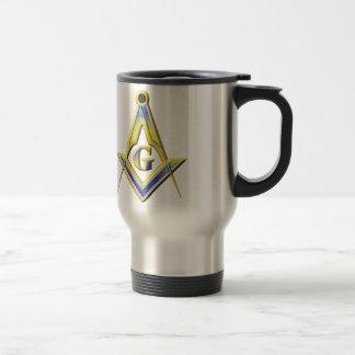 Caneca Térmica Quadrado & compassos do Freemason