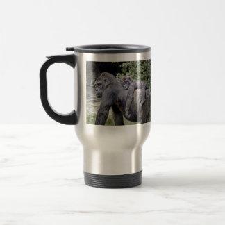 Caneca Térmica Reboque do bebê & da mamã do gorila