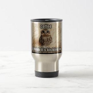 Caneca Térmica recipiente engraçado do viagem do café