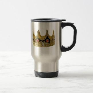 Caneca Térmica Rei Rainha princesa Coroa Copo quente