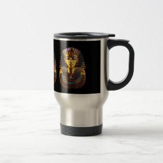 Caneca Térmica Rei Tutankhamun, máscara do ouro