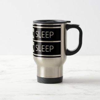 Caneca Térmica Repetição do sono do sono do sono