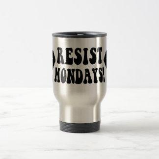 Caneca Térmica Resista segundas-feiras!
