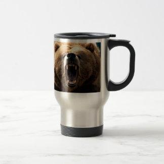 Caneca Térmica Rosnado do urso, orgulho do urso, URSO