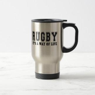 Caneca Térmica Rugby é modo de vida