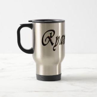 Caneca Térmica Ryan, logotipo, nome,