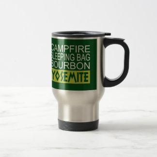 Caneca Térmica Saco de sono Bourbon da fogueira Yosemite
