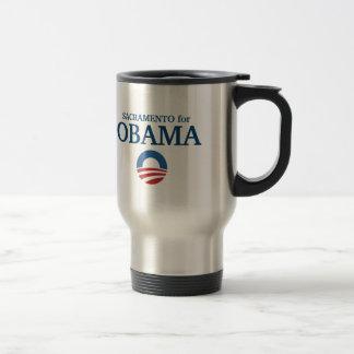 Caneca Térmica SACRAMENTO para o costume de Obama sua cidade
