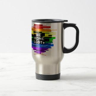 Caneca Térmica Seja mais LGBTQ seja mais design frio