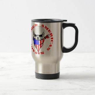 Caneca Térmica © selvagem americano orgulhoso de