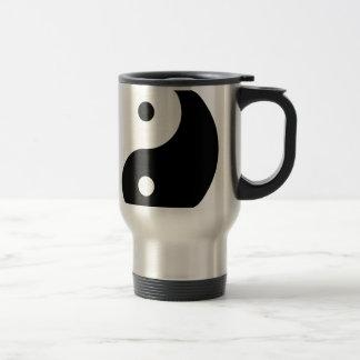 Caneca Térmica Símbolo filosófico inspirador de Yin e de Yang