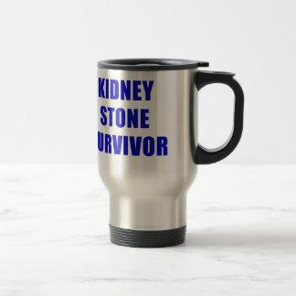 Caneca Térmica Sobrevivente da pedra de rim