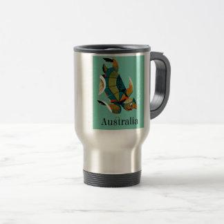Caneca Térmica Tartaruga de mar australiana animador