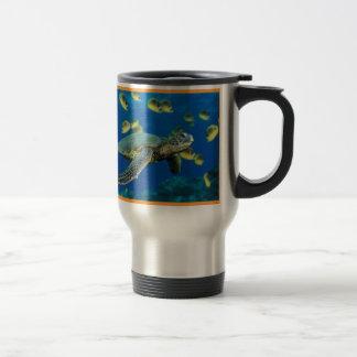 Caneca Térmica Tartaruga de mar verde