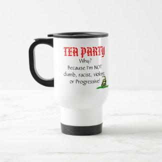 Caneca Térmica Tea party, por que?
