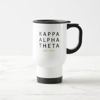 Caneca Térmica Teta alfa   Est do Kappa. 1870