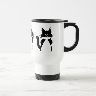 Caneca Térmica Três gatinhos sábios