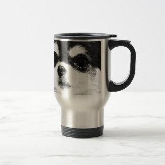 Caneca Térmica Uma chihuahua preto e branco