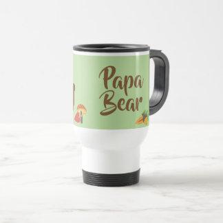 Caneca Térmica urso da papá - presente do pai da grande família