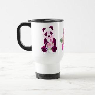 Caneca Térmica Urso de panda do cancro da mama