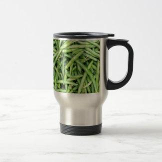 Caneca Térmica Vegetariano verde orgânico Vegitarian dos feijões
