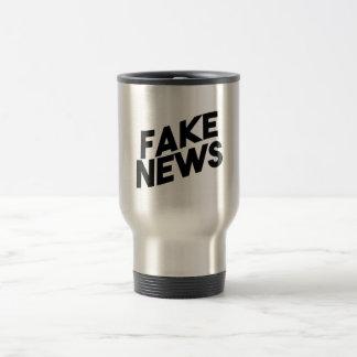 Caneca Térmica Verdade elegante do cargo da notícia falsificada